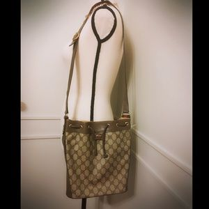 Vintage Gucci Bucket Bag AUTH